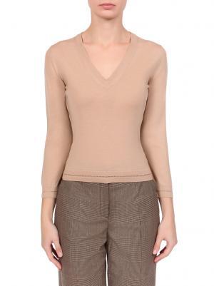 Пуловер DOLCE & GABBANA. Цвет: бежевый