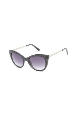 Солнцезащитные очки Swarovski. Цвет: черный