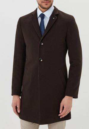 Пальто Berkytt. Цвет: коричневый