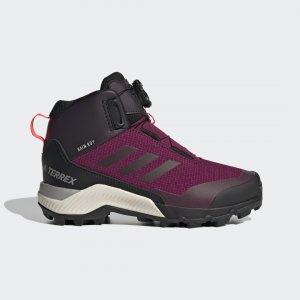 Ботинки для хайкинга Terrex Winter Boa adidas. Цвет: черный