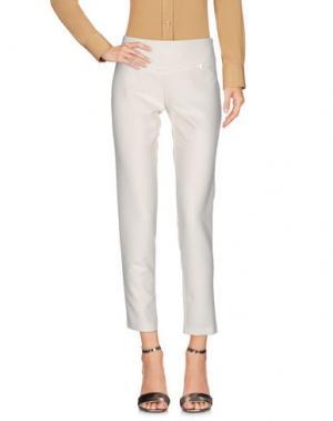 Повседневные брюки ANNARITA N. Цвет: слоновая кость