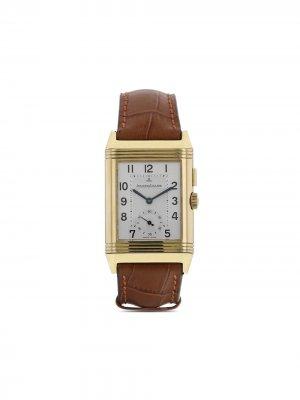 Наручные часы Reverso-Duoface pre-owned 36 мм 2000-х годов Jaeger-LeCoultre. Цвет: белый