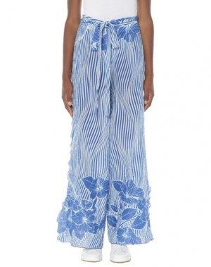 Длинная юбка AGOGOA. Цвет: синий