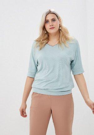 Пуловер Balsako. Цвет: голубой