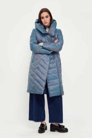 Пальто женское Finn-Flare. Цвет: изумрудный