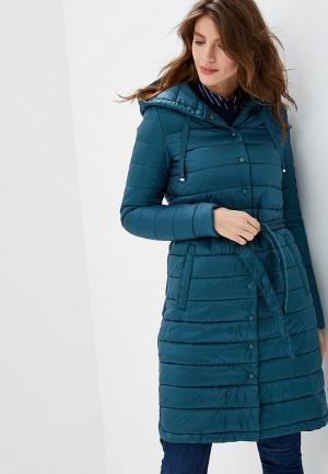 Куртка утепленная Sela. Цвет: зеленый