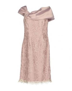 Платье до колена LEXUS. Цвет: пастельно-розовый