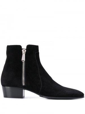 Ботинки по щиколотку Balmain. Цвет: черный