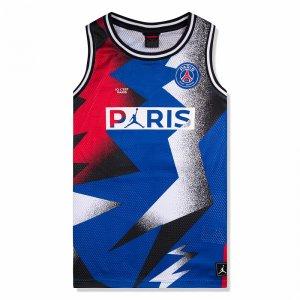 Paris Saint-Germain Mesh Jersey Jordan. Цвет: синий