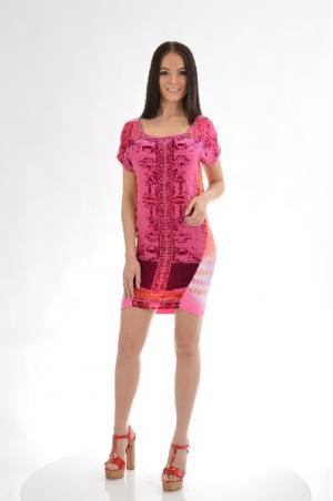 Платье HALE BOB. Цвет: разноцветный