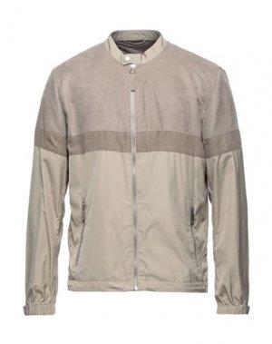 Куртка HAMAKI-HO. Цвет: бежевый
