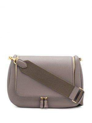 Мягкая сумка сэтчел Vere Anya Hindmarch. Цвет: серый