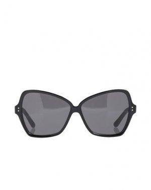 Солнечные очки CELINE. Цвет: черный