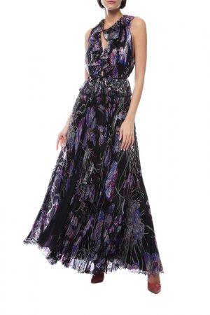 Платье Emilio Pucci. Цвет: мультиколор
