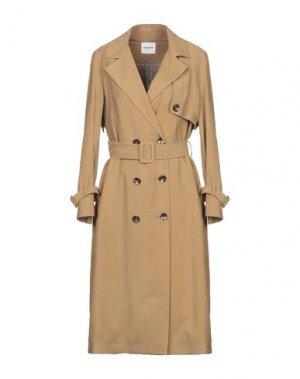 Легкое пальто ANNARITA N TWENTY 4H. Цвет: верблюжий