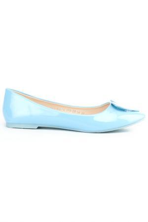 Туфли Amazonga. Цвет: голубой