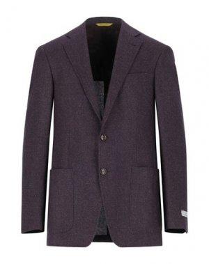 Пиджак CANALI. Цвет: баклажанный