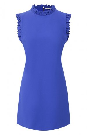 Мини-платье Alice + Olivia. Цвет: синий