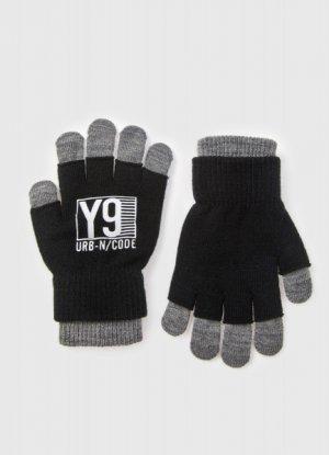 Перчатки для мальчиков O`Stin. Цвет: черный
