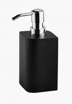 Дозатор для мыла Wasserkraft. Цвет: черный