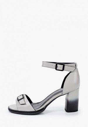 Босоножки King Boots. Цвет: серый