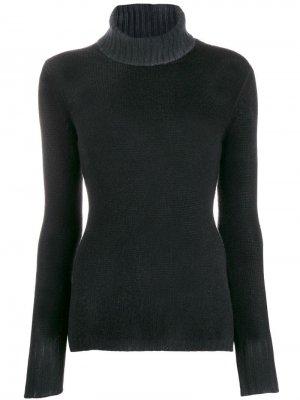 Пуловер с высоким воротником Avant Toi. Цвет: черный