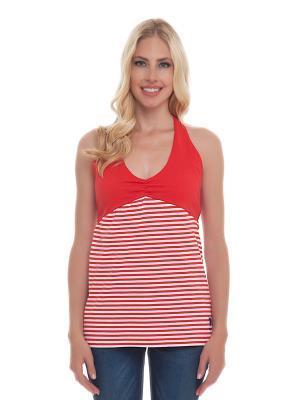Майка U.S. Polo Assn.. Цвет: красный