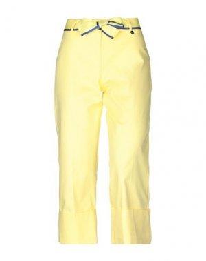 Брюки-капри FRACOMINA. Цвет: желтый