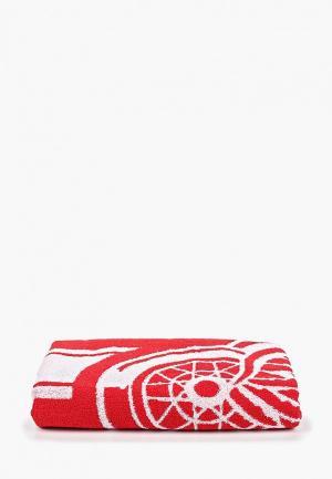 Полотенце Atributika & Club™ NHL Detroit Red Wings. Цвет: красный