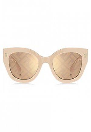 Солнцезащитные очки FENDI. Цвет: розовый