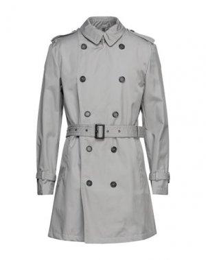 Легкое пальто HISTORIC. Цвет: серый