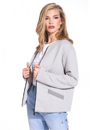 Куртка Gloss Missy. Цвет: серый