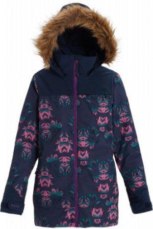 Куртка утепленная женская Lelah, размер 44-46 Burton. Цвет: синий