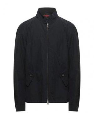 Куртка BARACUTA. Цвет: черный