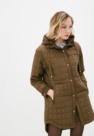 Куртка утепленная Dimma. Цвет: хаки