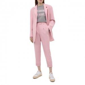 Хлопковый костюм Seven Lab. Цвет: розовый