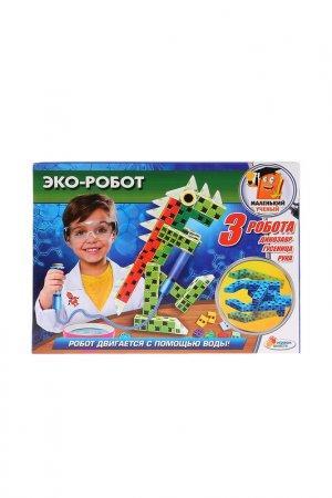 Игрушка опыты: эко-робот Играем вместе. Цвет: зеленый