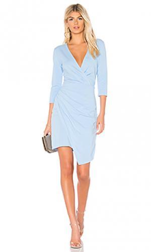 Платье Bobi. Цвет: нежно-голубой