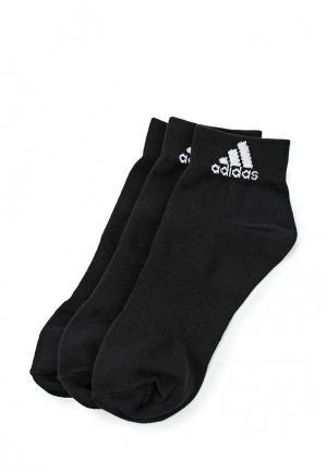Комплект adidas PER ANKLE T 3PP. Цвет: черный