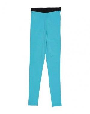 Повседневные брюки ALEXANDR ROGOV. Цвет: бирюзовый