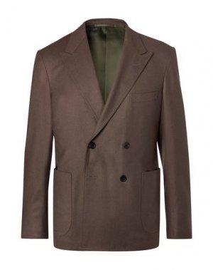 Пиджак CAMOSHITA by UNITED ARROWS. Цвет: свинцово-серый