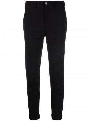 Укороченные джинсы скинни LIU JO. Цвет: черный
