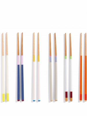 Палочки для еды Colour HAY. Цвет: разноцветный