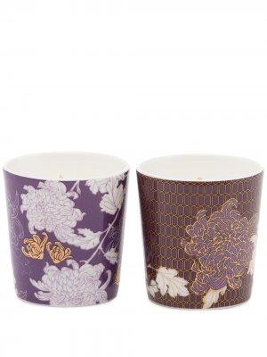 Набор ароматических свече Chrysanthemum Mini Shanghai Tang. Цвет: фиолетовый