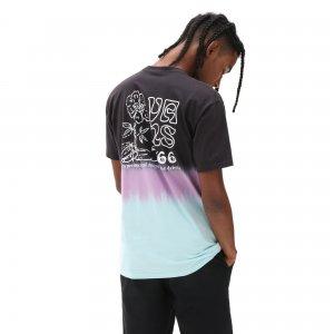 Футболка New Age Tie Dye VANS. Цвет: черный