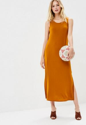 Платье Mango - BENIJET. Цвет: коричневый