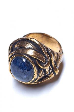 Кольцо ALCOZER. Цвет: золотой, серый