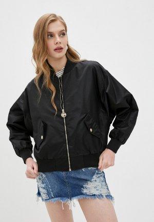 Куртка Chiara Ferragni. Цвет: черный