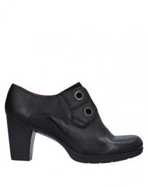 Ботинки KHRIO'. Цвет: черный