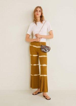 Поясная сумка с наплечным ремнем и цепочкой - Moira Mango. Цвет: коричневый